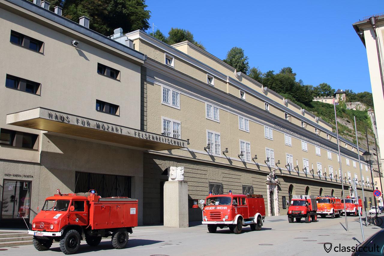 150 Jahre Freiwillige Feuerwehr Salzburg und Haus für Mozart Felsenreitschule, 12.09.2015, 9:50