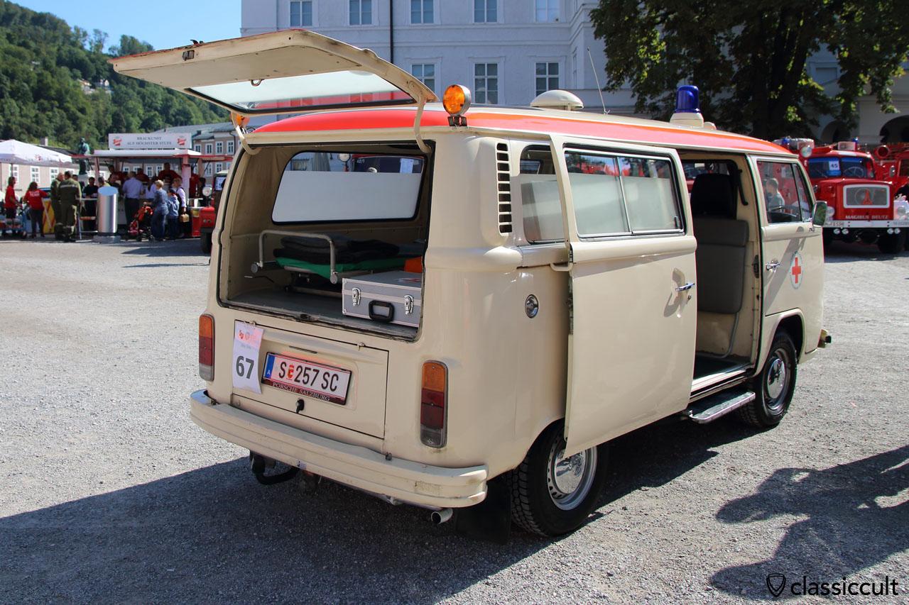 VW T2b Krankenwagen aus Österreich