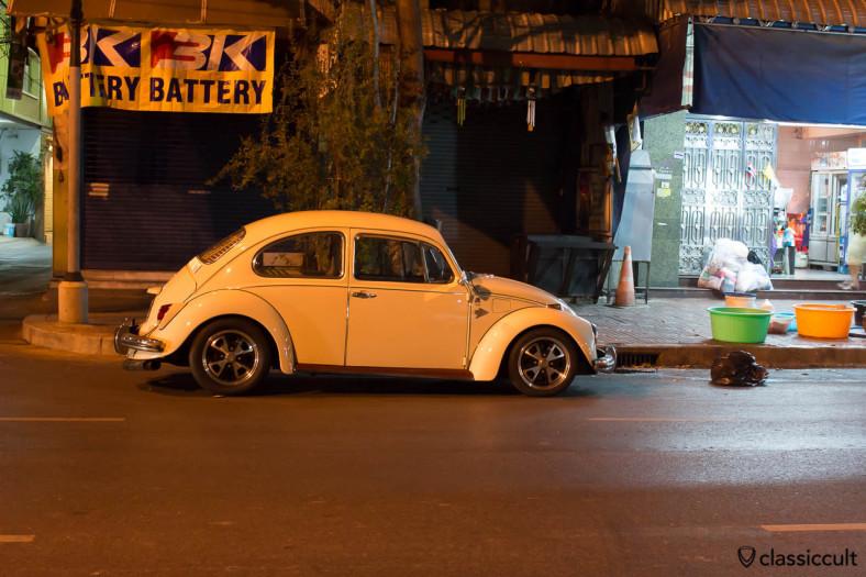 1968 VW 1500 Beetle side Bangkok