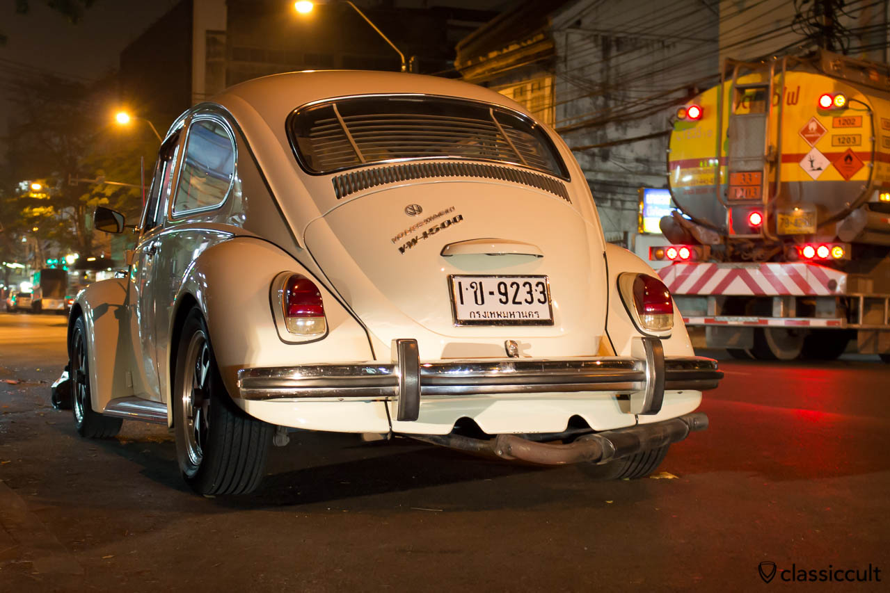 1968 VW 1500 Beetle rear Bangkok