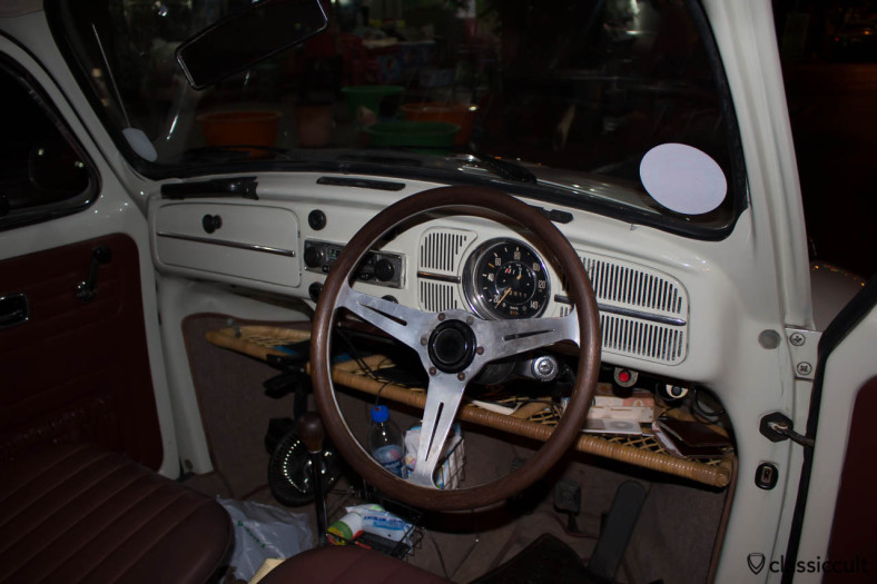 1968 VW 1500 Beetle dashboard Bangkok