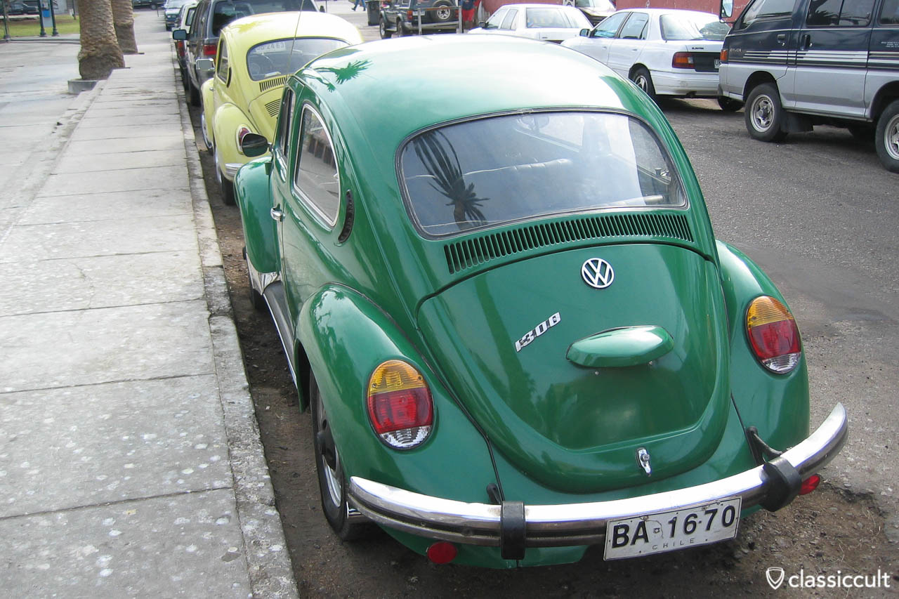 Classic VW Bug Pictures taken in Arica, Chile