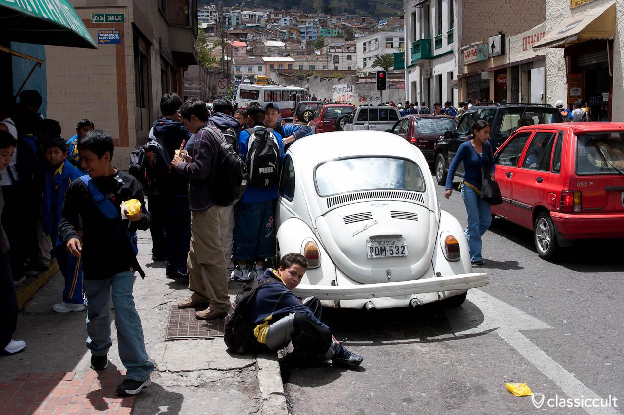 VW Bug and Bus Pictures Quito, Ecuador
