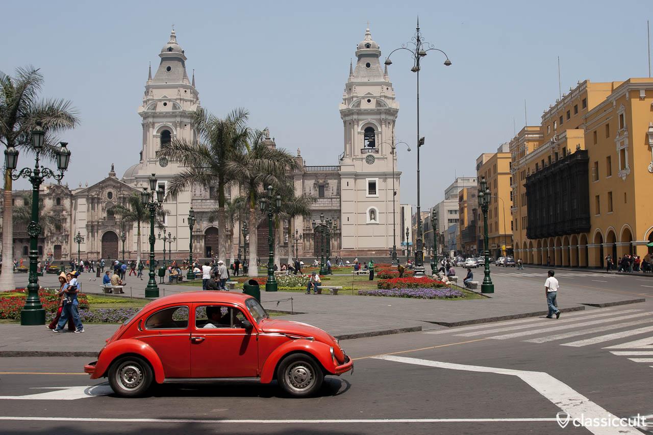 Classic Volkswagen Bugs in Peru