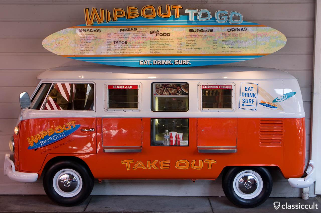 VW T1 Bus San Francisco Pier 39