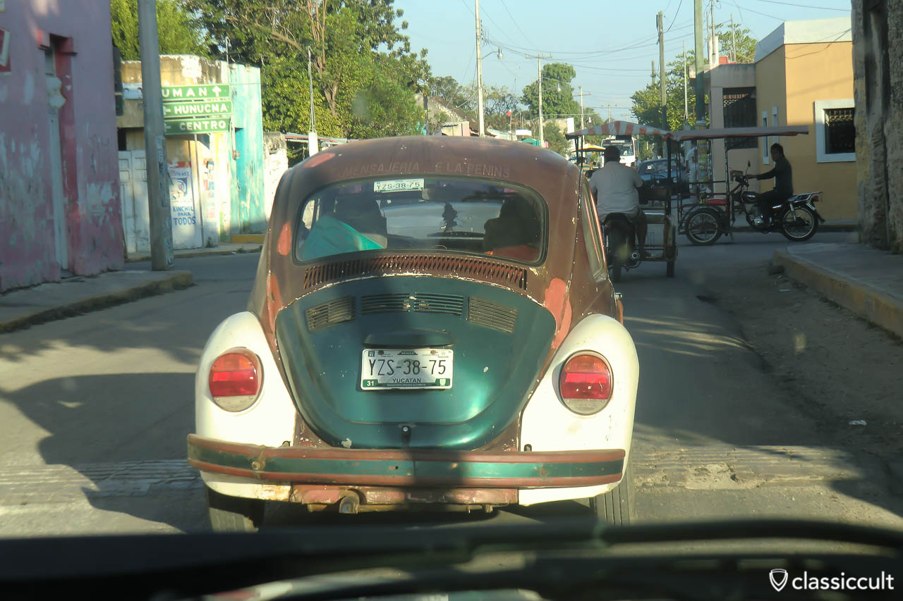 VW Bug Uman Yucatan Mexico
