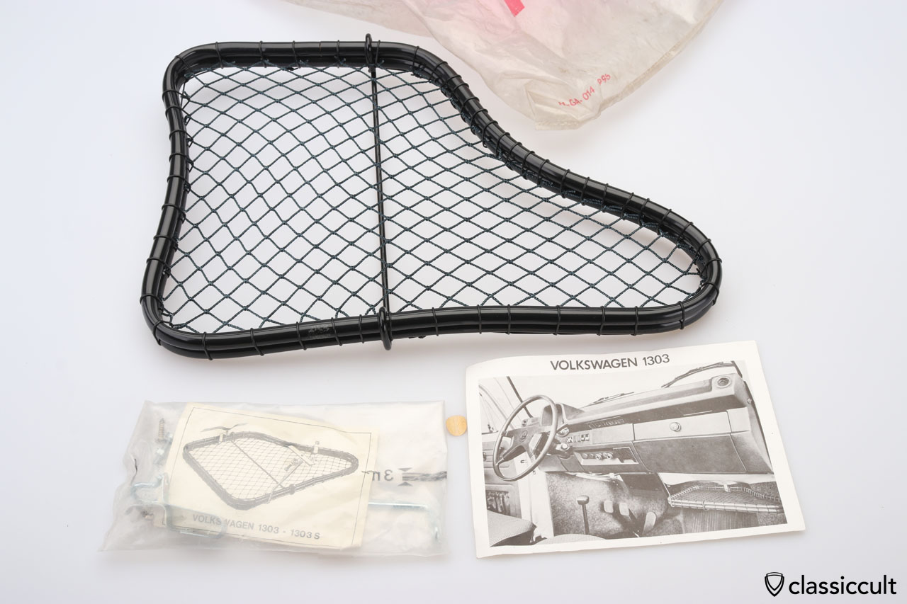 VW 1303 Super Beetle parcel tray NOS