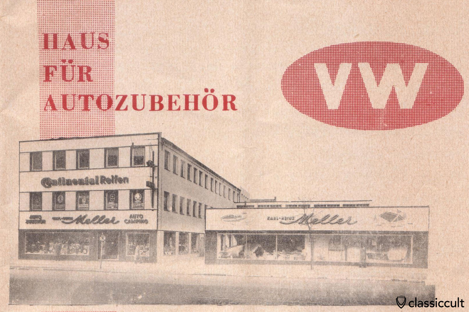 VW Accessories 1957-1960