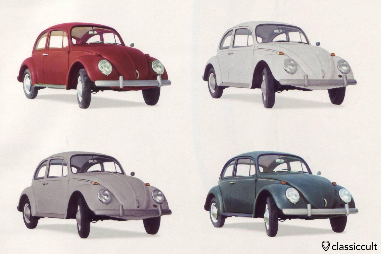 VW 1200A 1965 30hp brochure