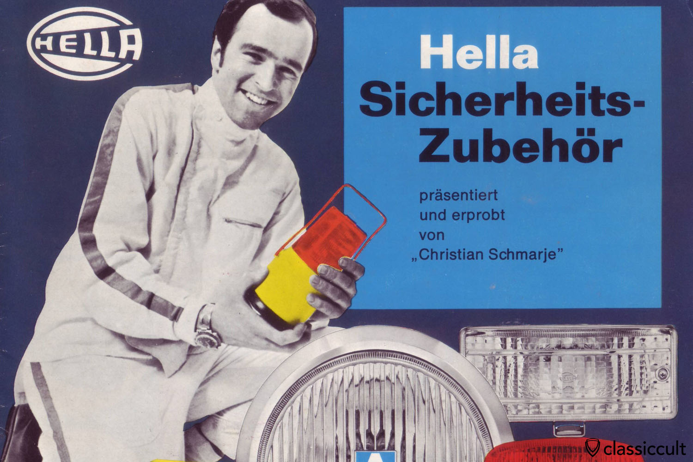 Hella Fog Lights Lamp Accessory Light Brochure 1969