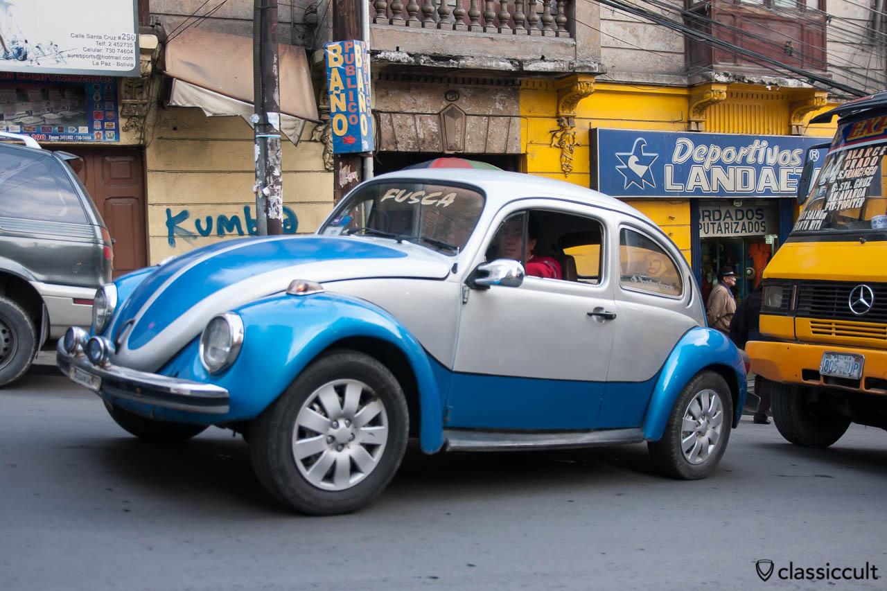Volkswagen Peta Beetle in Bolivia
