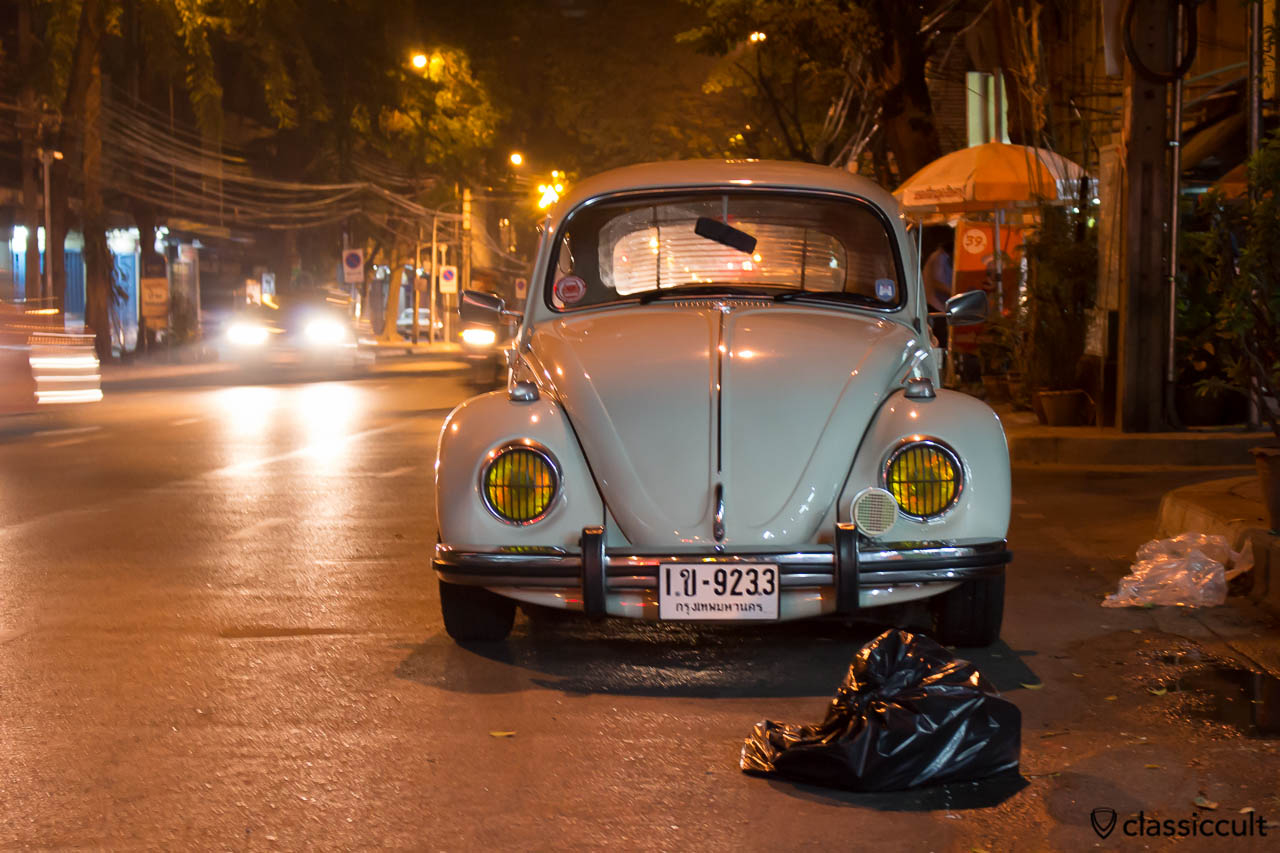 1968 VW 1500 Beetle in Bangkok