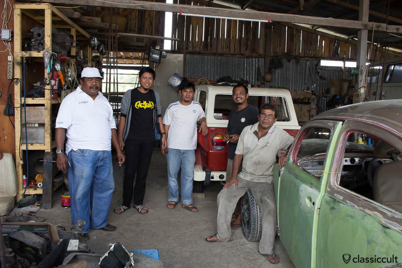 Classic VW Scene Banda Aceh Sumatra Indonesia