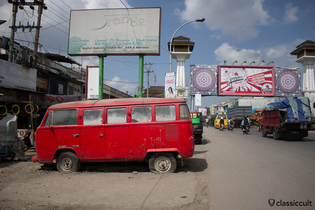 VW Bay Bus in Medan Indonesia