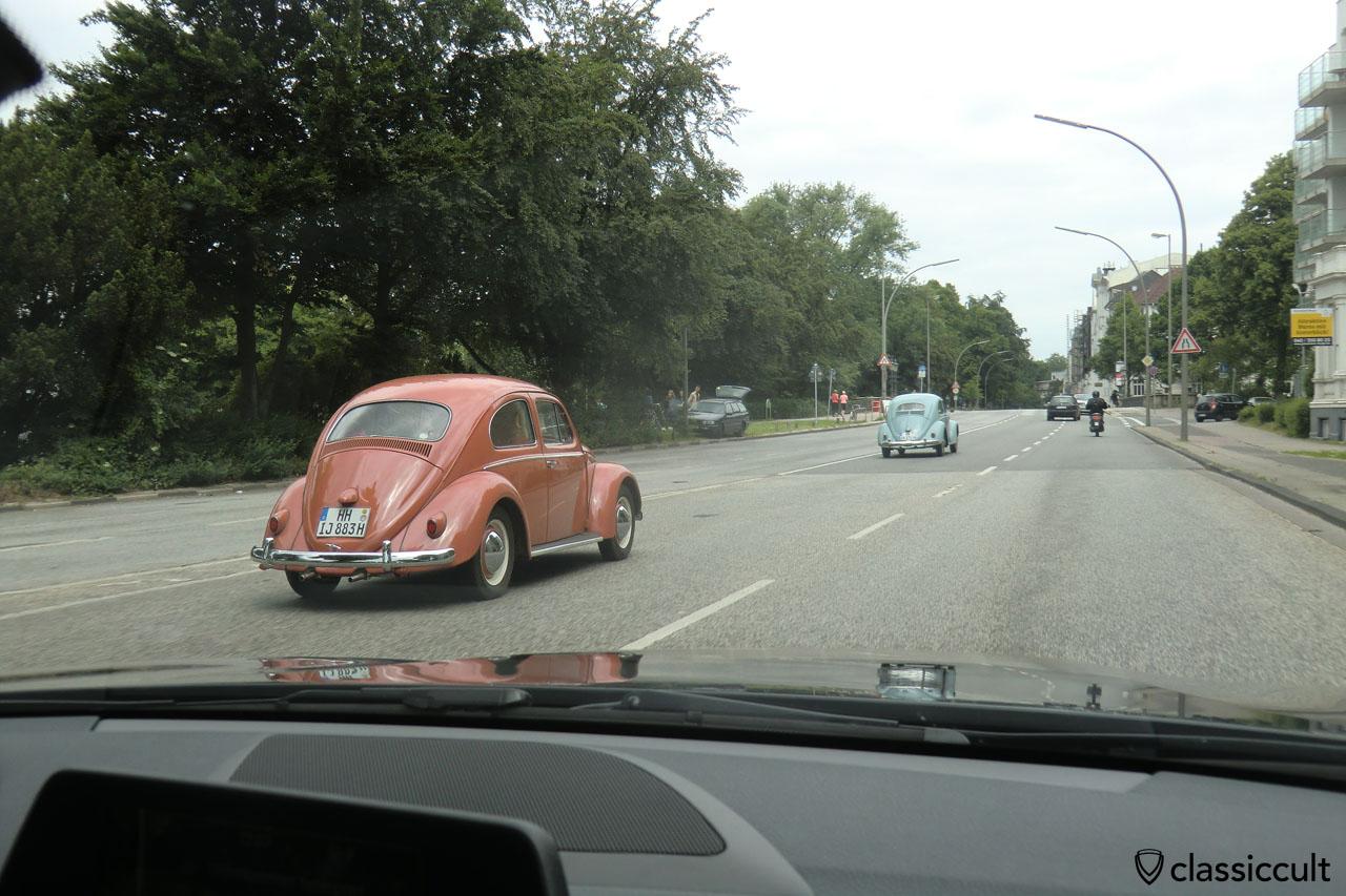 VW Beetles Hamburg Alster