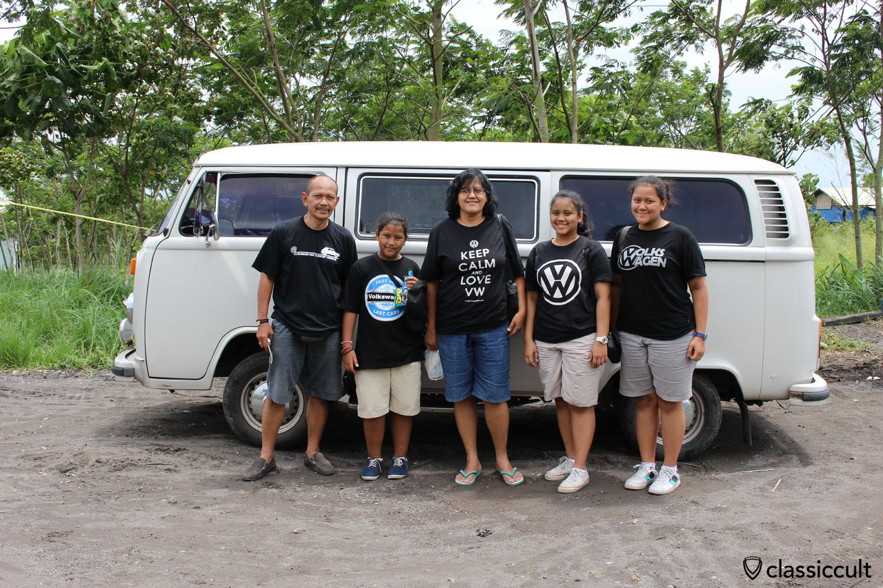 Pictures of the classic VW in Indonesia