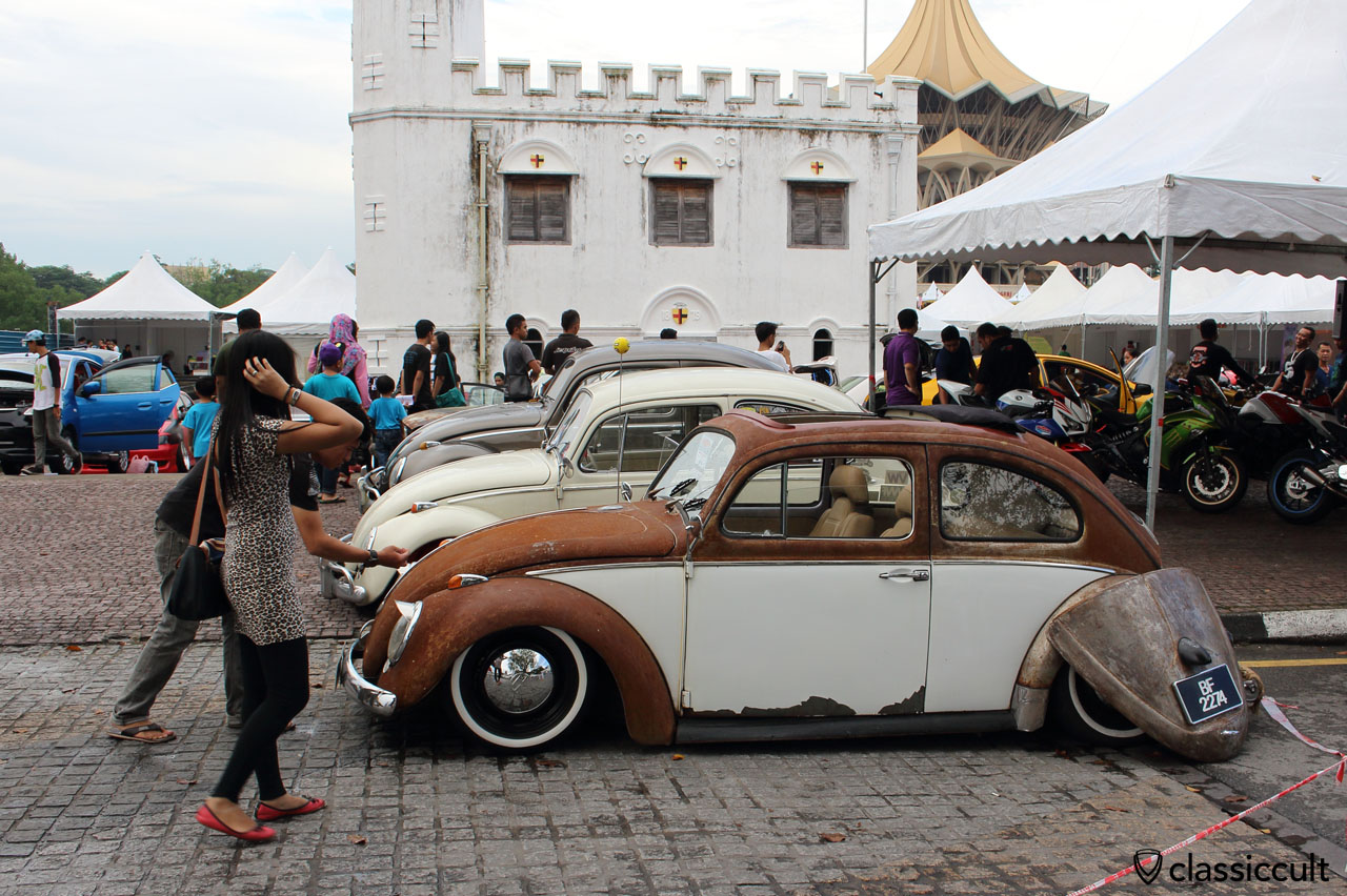 Classic VW Beetles in Borneo Malaysia