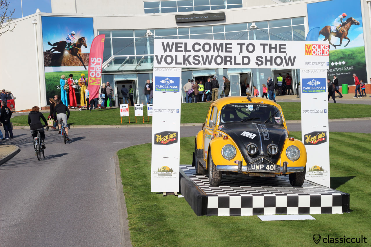 VolksWorld 2016 VW Show at Sandown Park