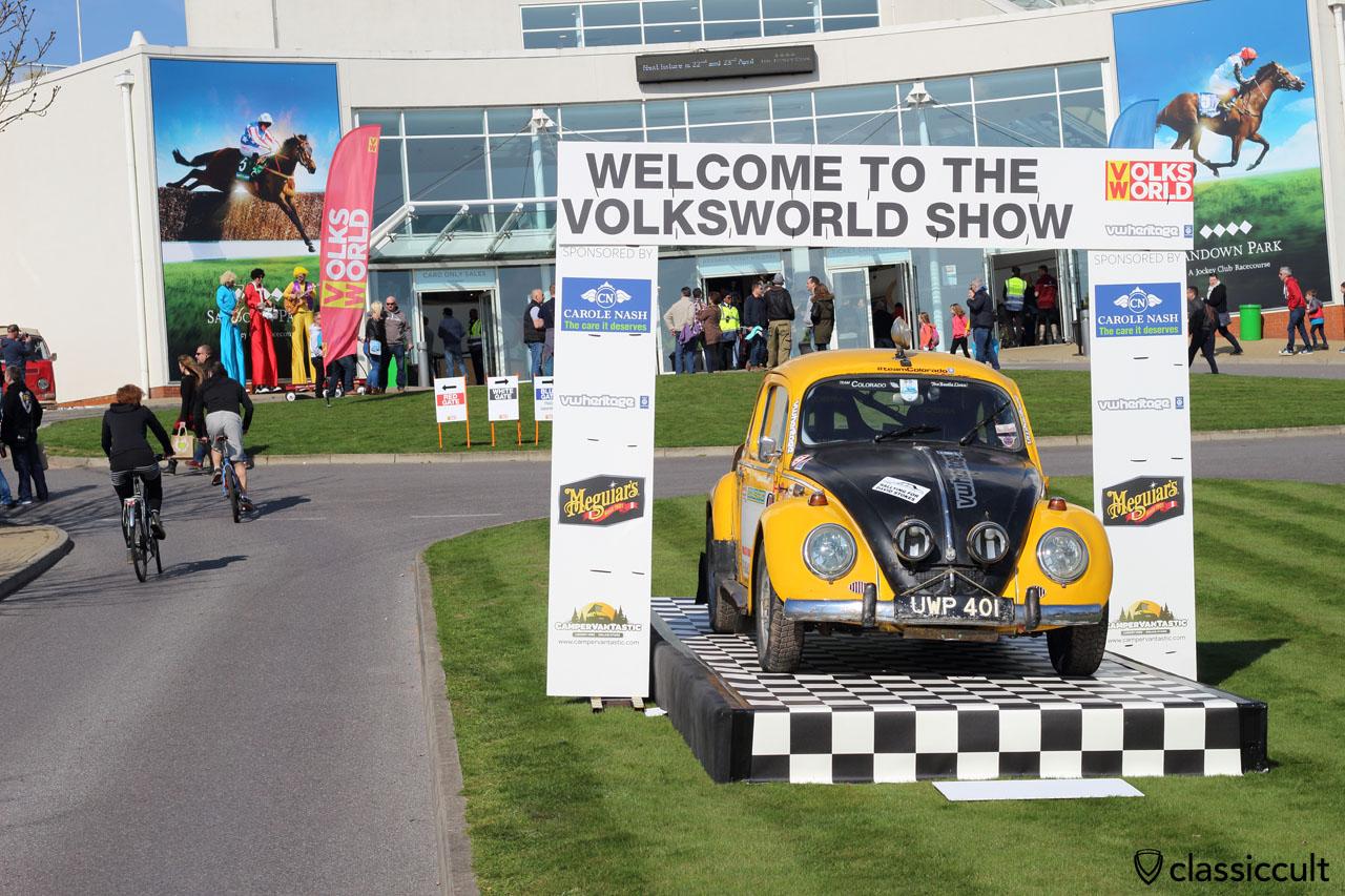 VolksWorld 2016 VW Show at Sandown Park