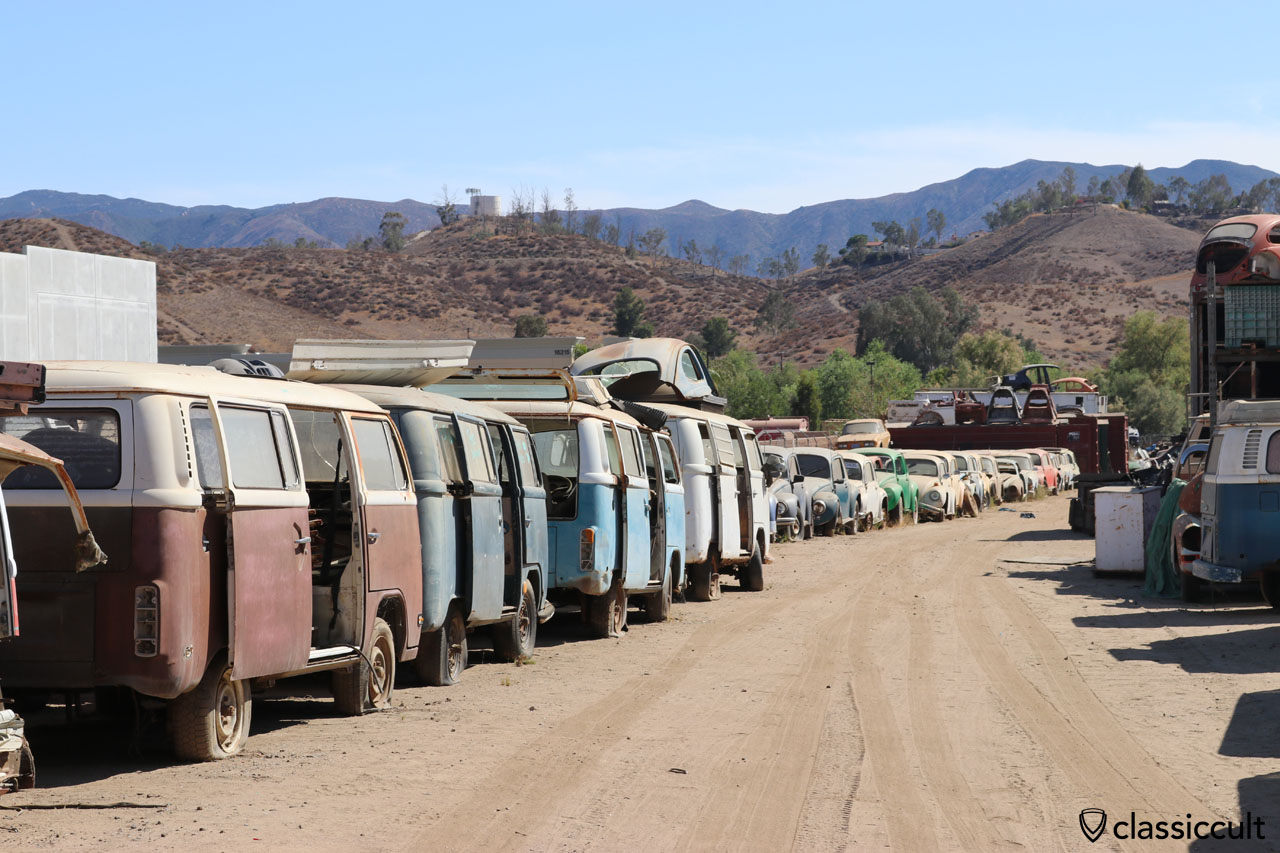 Interstate VW Junkyard California