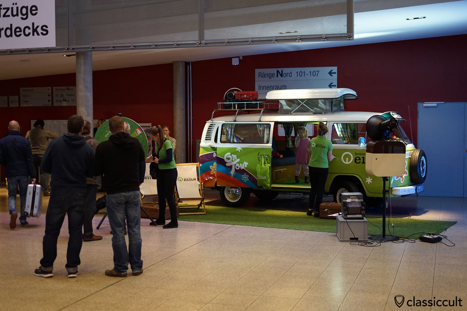Bremen eins Radio On Tour VW Camper