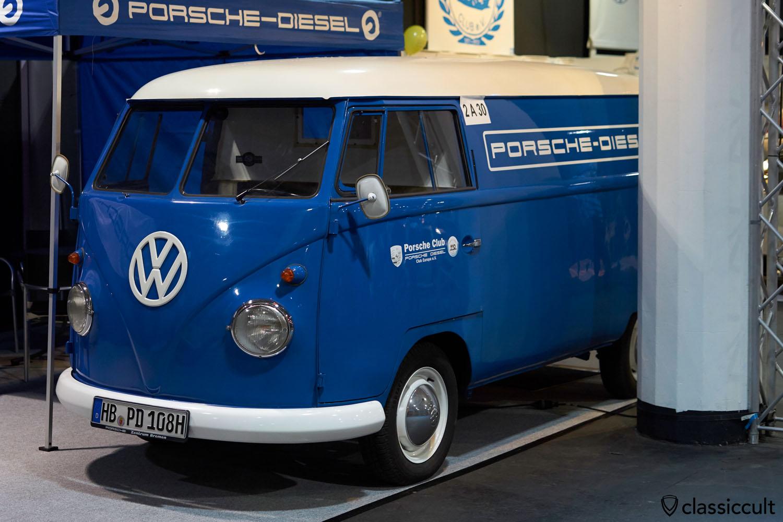 Porsche Diesel Club Europe T1 Bus