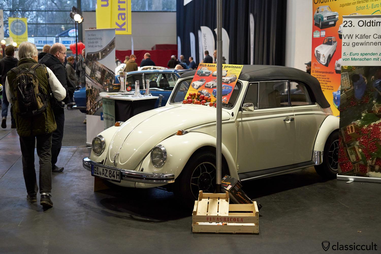 VW Käfer Cabrio Oldtimer Spendenaktion Lebenshilfe Gießen