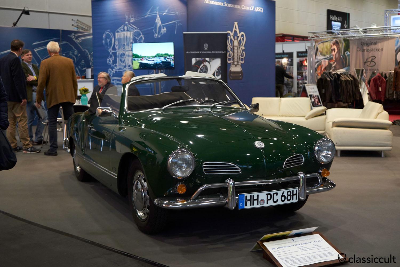 1966 VW 1500 Karmann Ghia Cabriolet