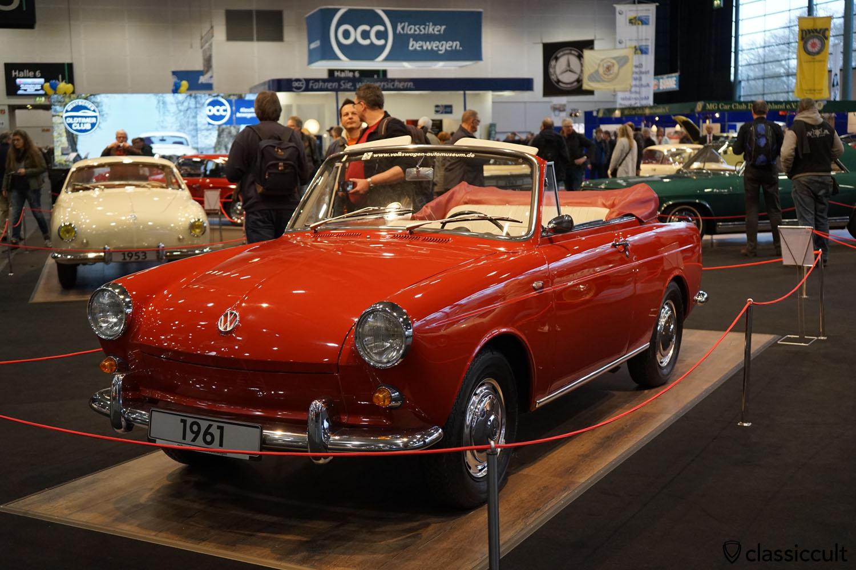 VW 1500 Cabriolet Prototyp 1961