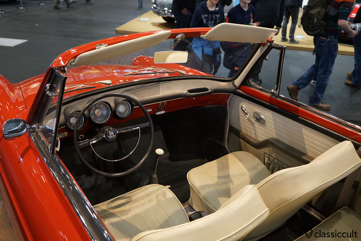 VW 1500 Type 3 Cabrio dashboard, Prototyp 1961