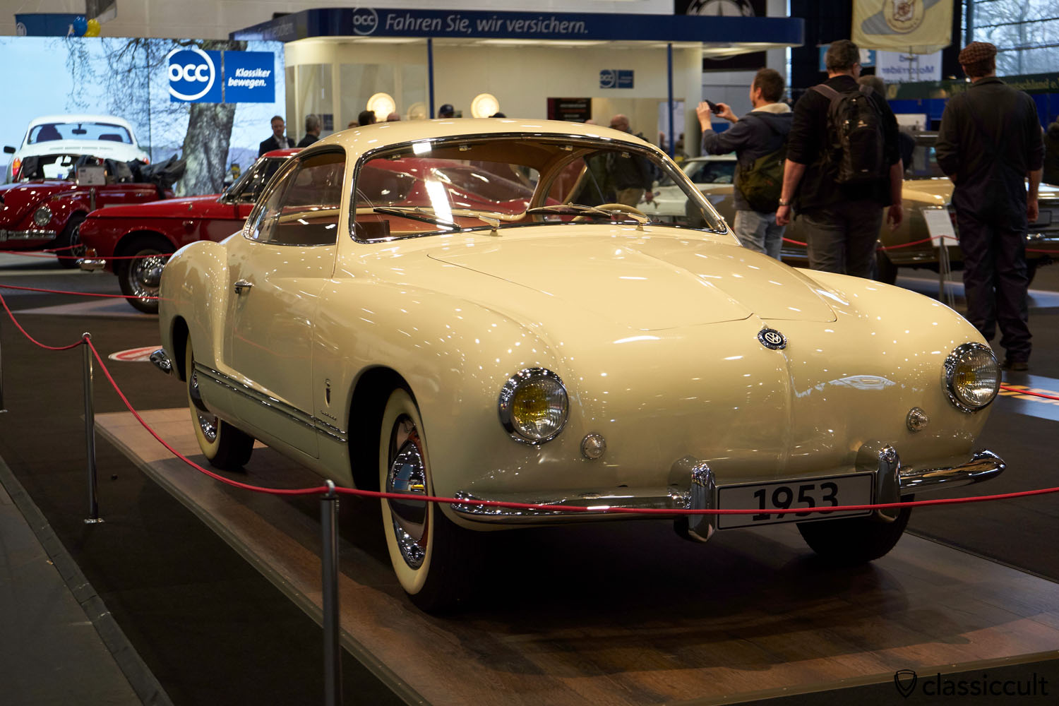 "VW Karmann Ghia 1953, the first Ghia ever, the mothership aka ""Das Urmodell"", Bremen Classic Motorshow, BCM 2017"