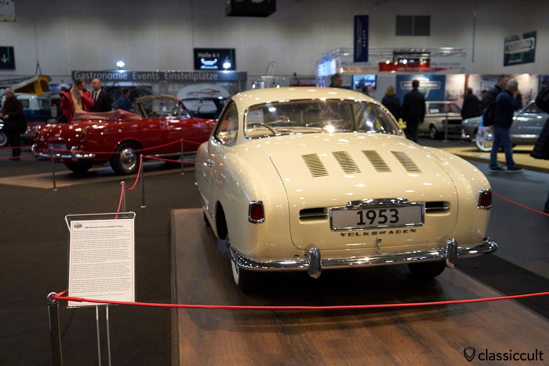 VW Karmann Ghia 1953 Prototyp