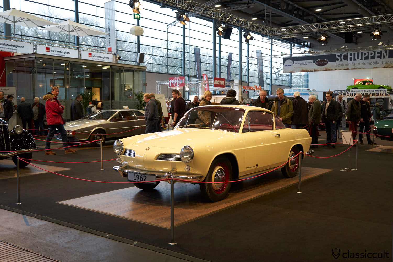 VW Karmann Ghia Nachfolger-Studie 1962 Prototyp, Bremen Classic Motorshow 2017