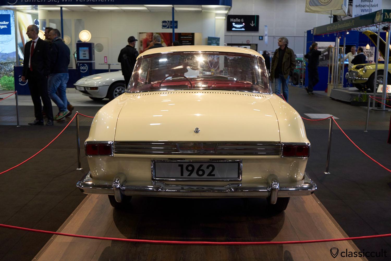 VW Karmann Ghia Nachfolger-Studie 1962 Prototyp, rear view