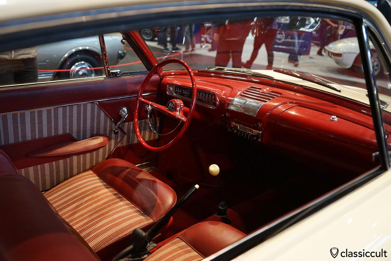1962 VW Karmann Ghia Nachfolger-Studie Prototyp dashboard