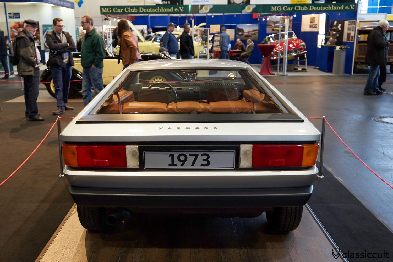 Audi Karmann Pik As 1973 Prototyp, rear view