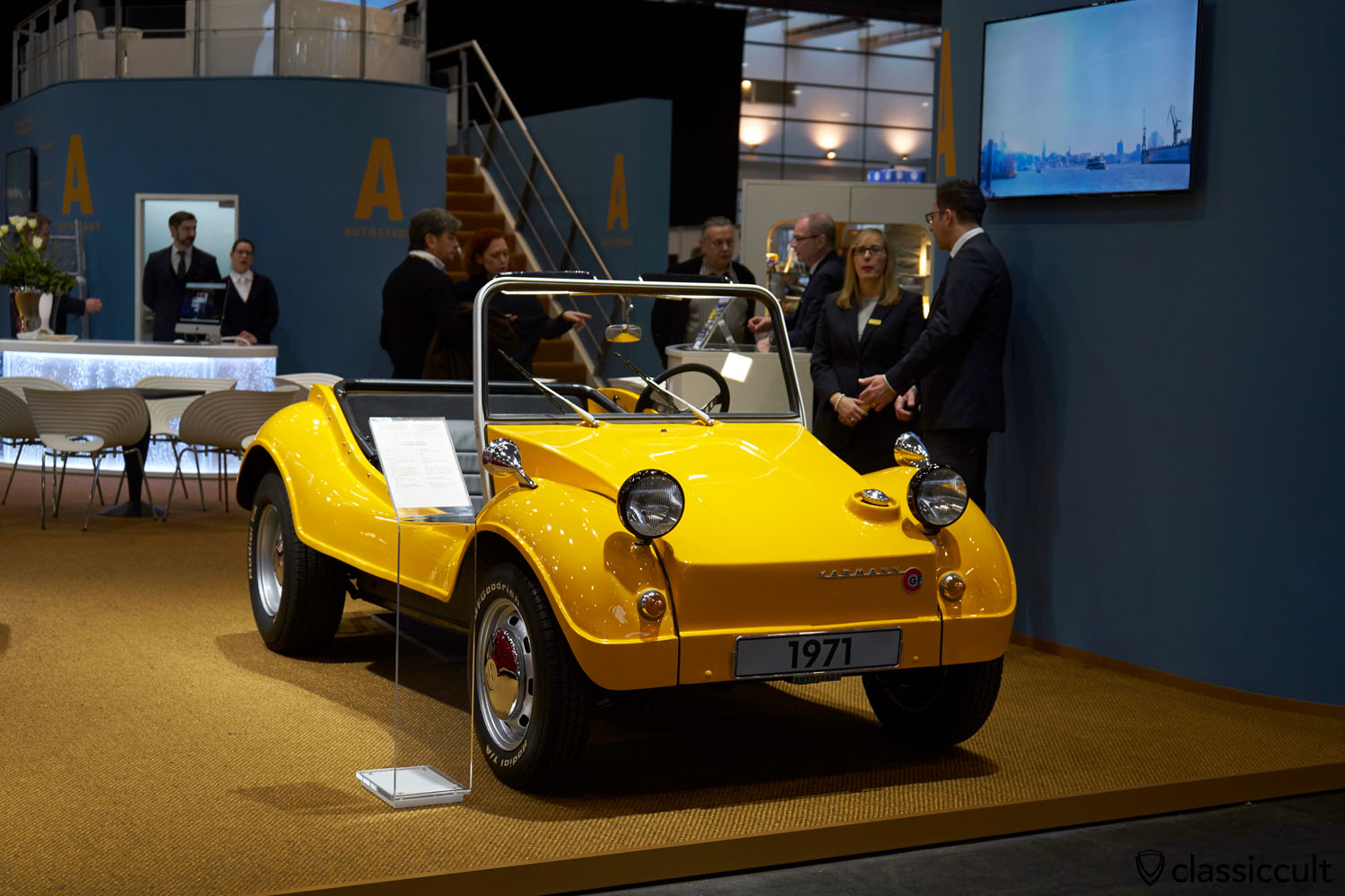1971 Karmann GF Buggy with Talbot Berlin 333 mirrors