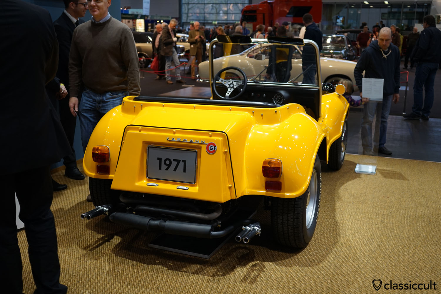 1971 Karmann GF Buggy, rear view