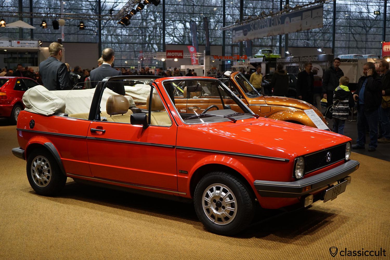 1980 VW Golf Cabrio