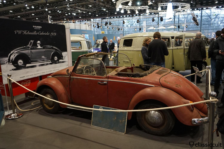1949 VW Hebmüller, unrestored and rusty