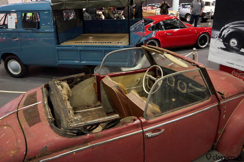 VW Hebmüller 1949 barn find