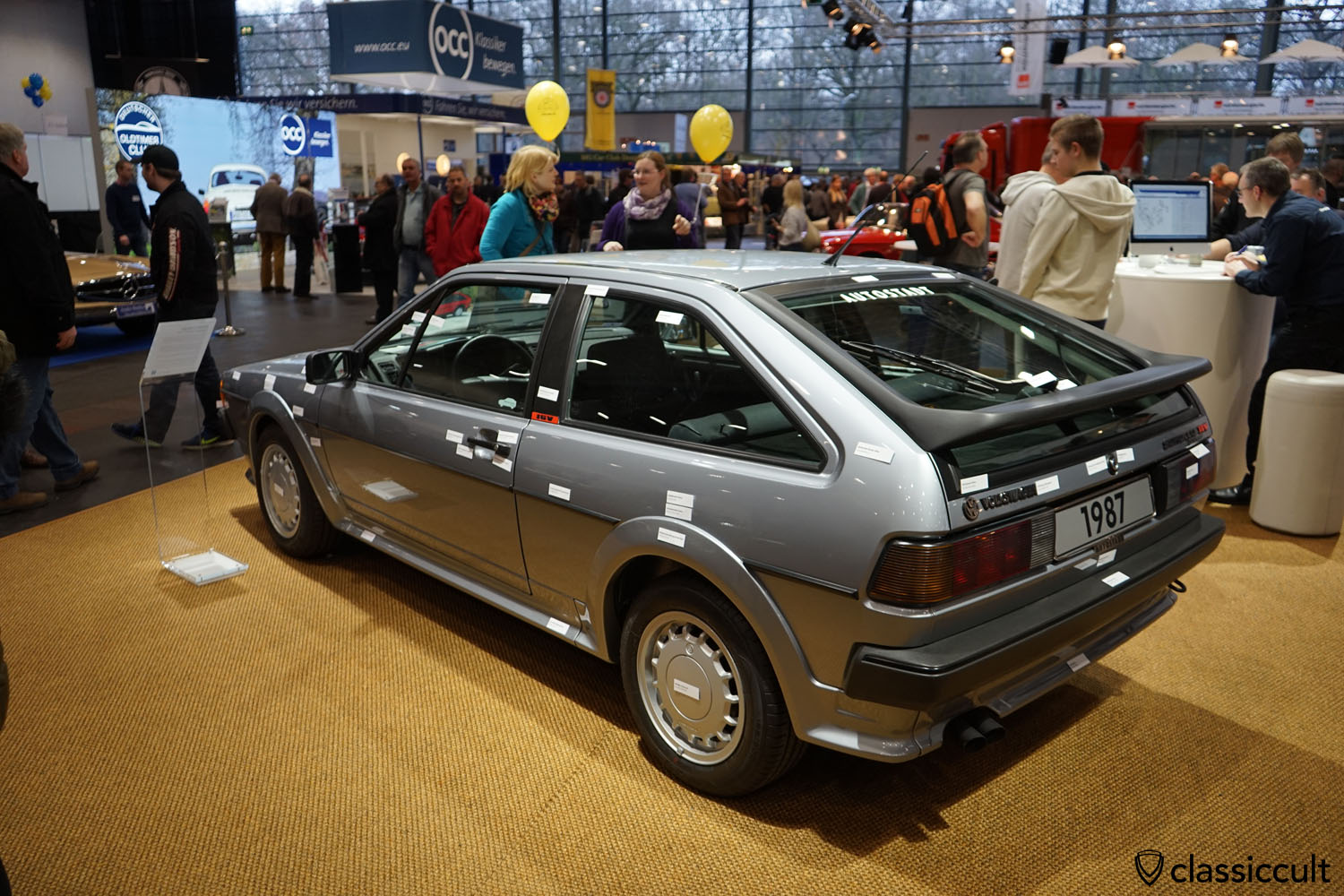 1987 Scirocco 2 GTX 16V, rear view