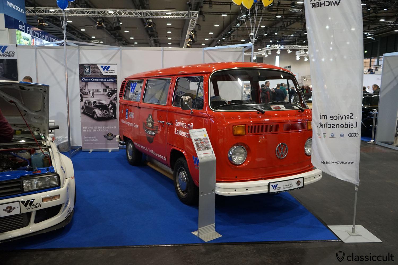 VW Bulli (Ex. Feuerwehr) 01/1977, Auto Wichert Classic Car