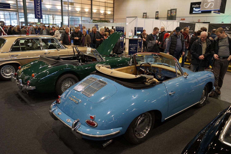 Porche 356 Cabrio, rear view