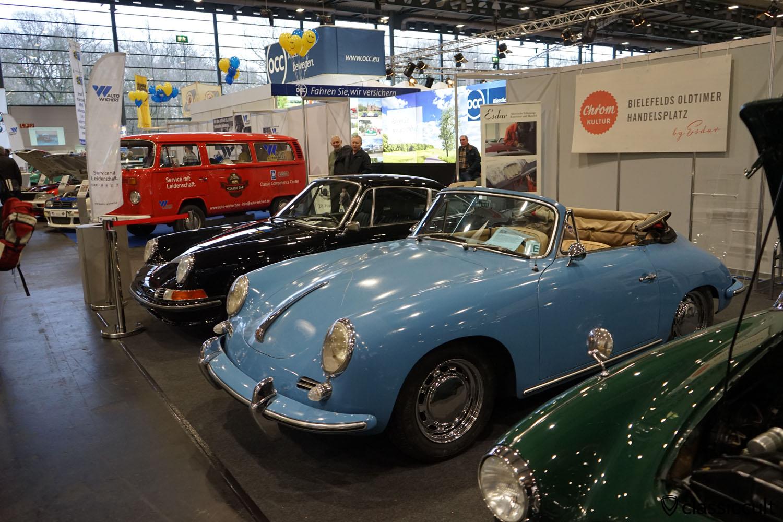 Porche 356 Cabrio, Chrom Kultur Bielefeld