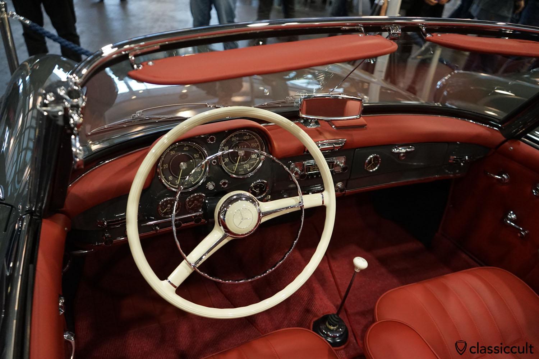 Mercedes Benz 190 SL, dashboard