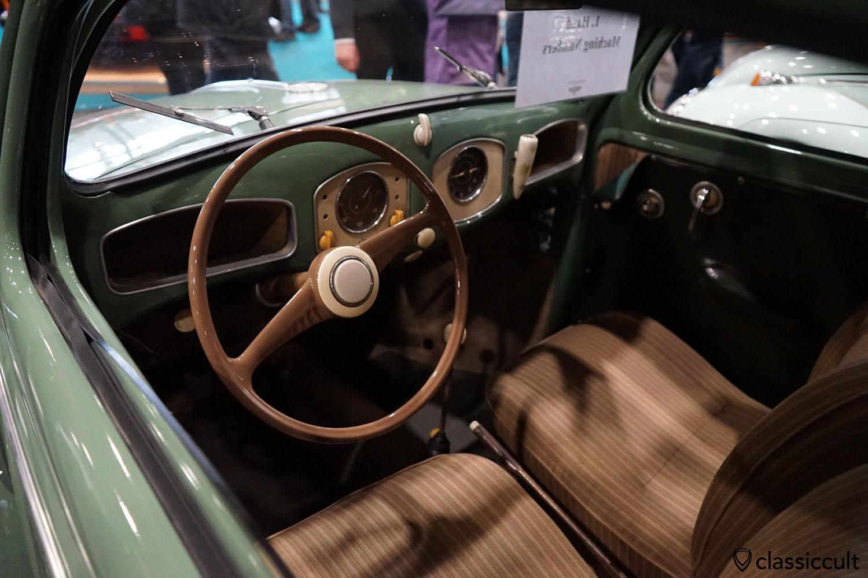 1951 VW Split Beetle dashboard, original and untouched