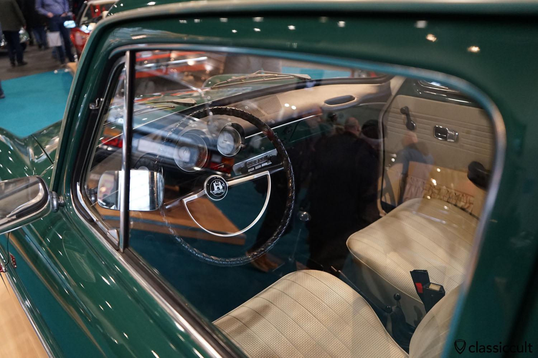VW Type 3 1600 TL 1968, peru-green, dashboard