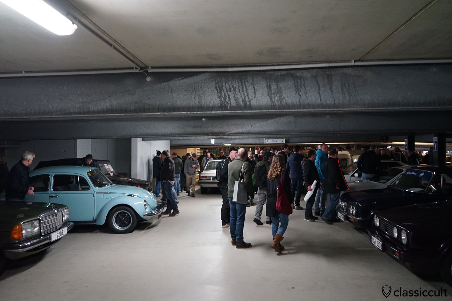 ParkHaus with lots of classic cars for sale