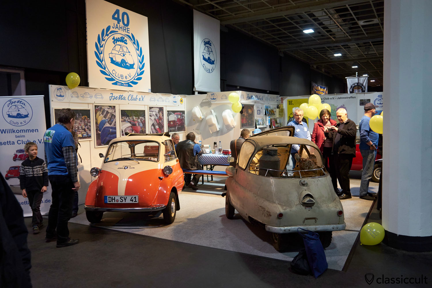 40 years BMW Isetta Club 1977-2017